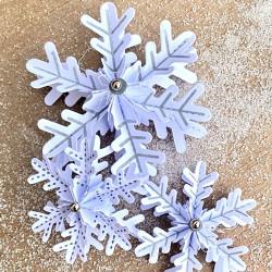 Stempelmotive für Schneeflocke Nr. 12-L / 12 / 12-Mini