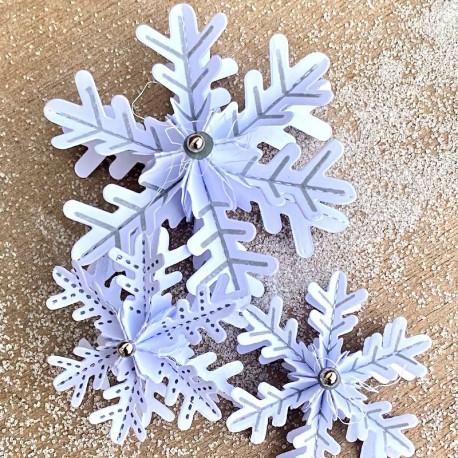 Stempelmotive für Schneeflocke Nr. 12