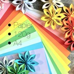 10 Bögen Papier DIN-A4, 120g